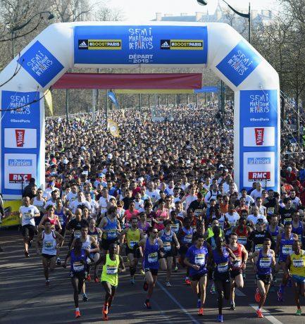Mon premier semi-marathon : le Semi de Paris 2015