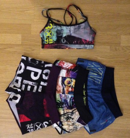 Dans mon dressing sportif #4 : Shorts et brassière Reebok