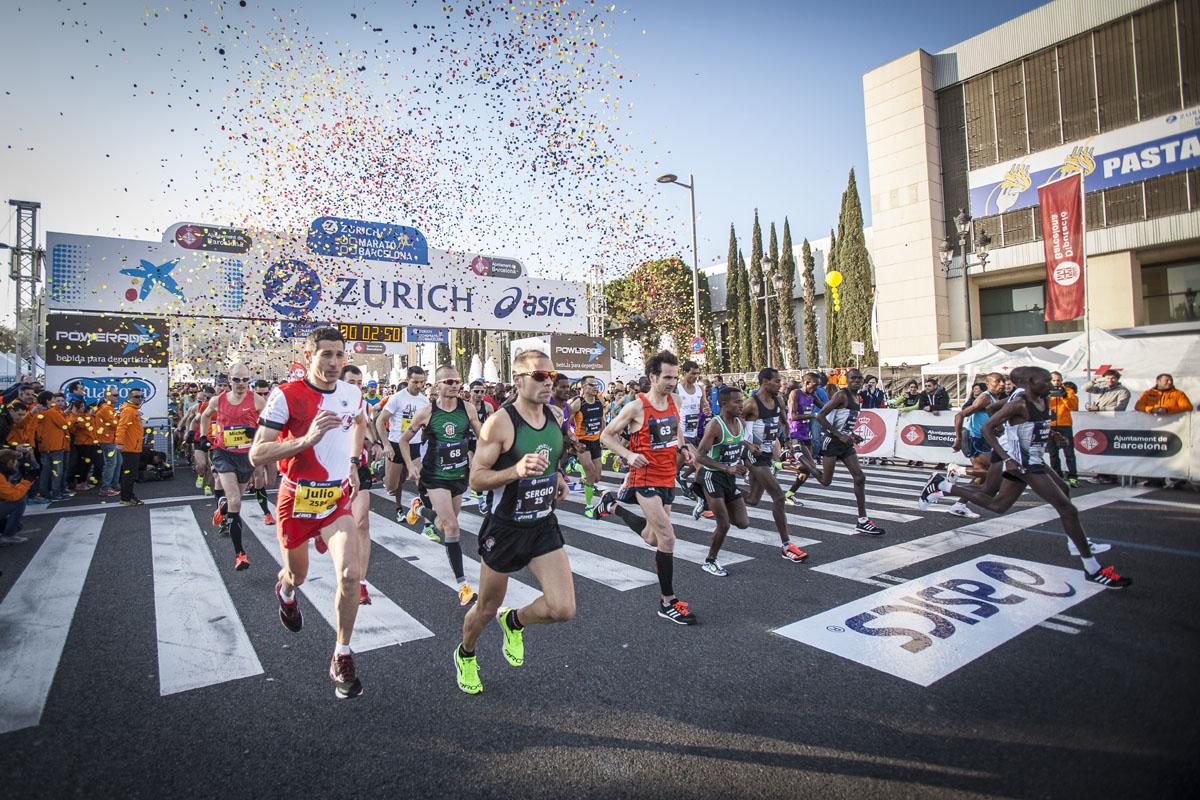 Marathon Barcelone
