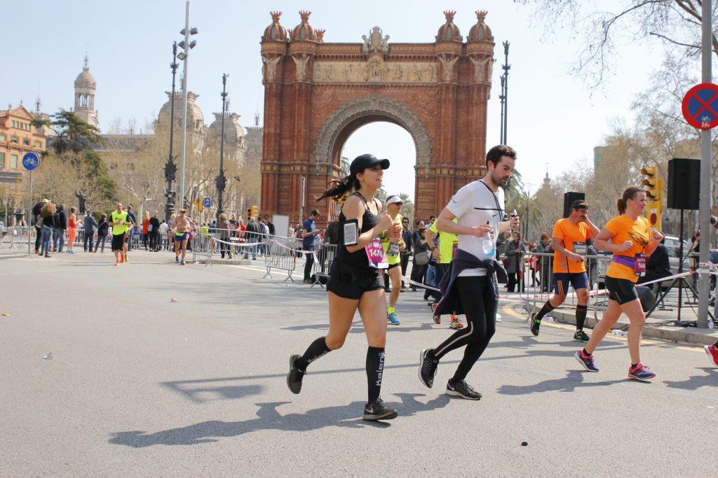Marathon Barcelone 2017 - Arc de Triomphe